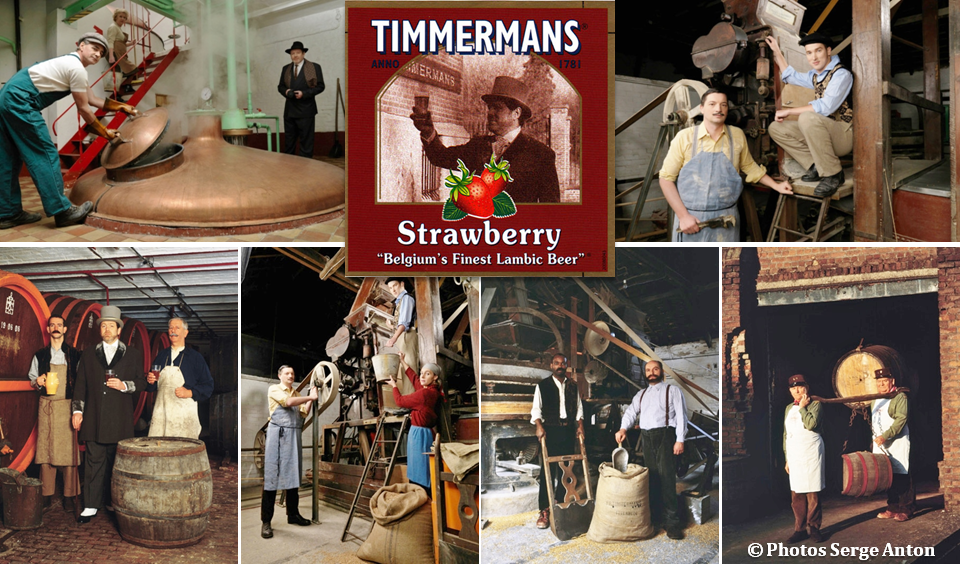 Bière belges - Brasserie Timmermans - Itterbeek - Musée du Lambic - Bruxelles-Bruxellons