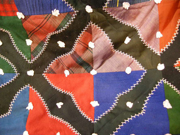 Hearts and Gizzards Mini Quilt Kit for Dollhouses