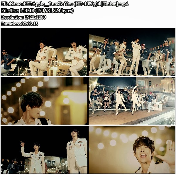 Download MV LED Apple (레드애플) - Run To You (런투유) (Full HD 1080p)