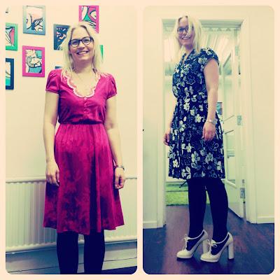 Marshmallow Electra Anna Carlsson vintageklänning vintage dress