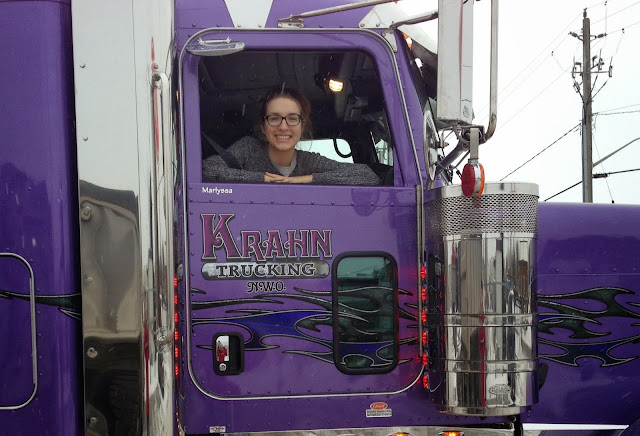 semi truck canada purple trucking jason krahn
