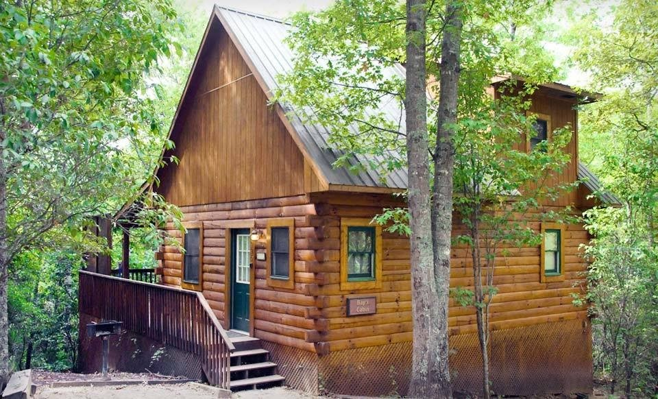 Log cabins for rent groupon special for log cabins for for Smoky mountain nc cabin rentals