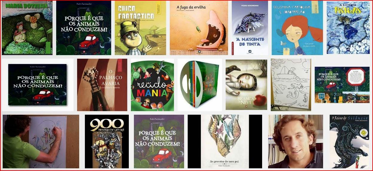 Livros de Pedro Seromenho