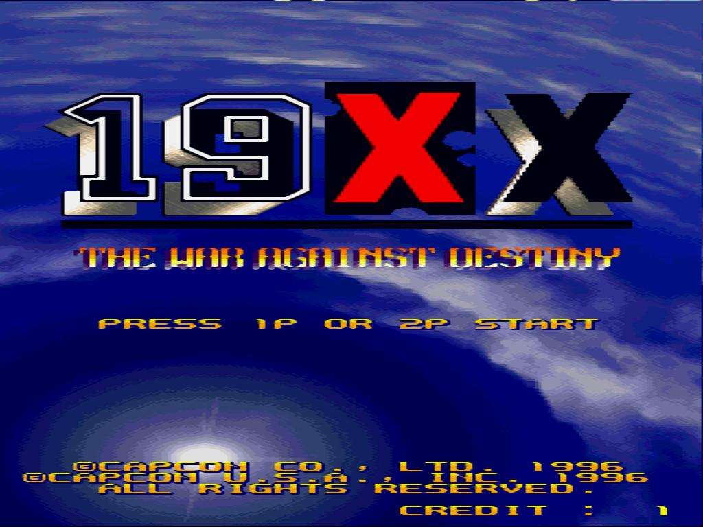 19XX The War Against Destiny Game for Windows