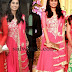 Shamili in Pink Churidar