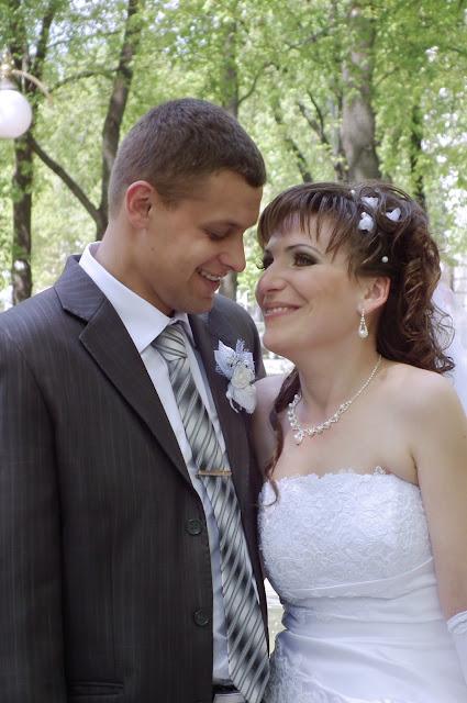 Свадебное фото - счастливы вместе