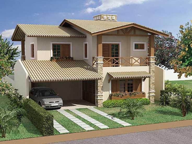 fachadas de casas con techo de tejas | inspiración de diseño de