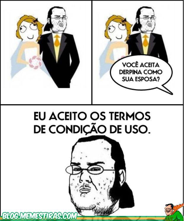 Tirinhas Memes Casamento