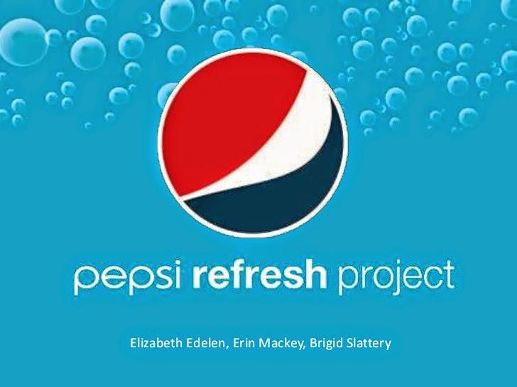 advertising and pepsi refresh