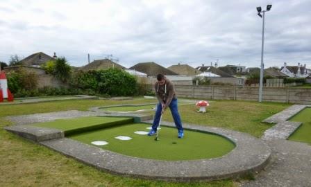 Arnold Palmer Crazy Golf course in Prestatyn