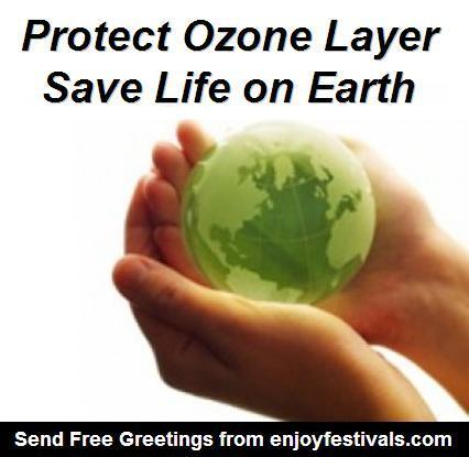 WORLD OZONE DAY  SEPTEMBER 16, 2012