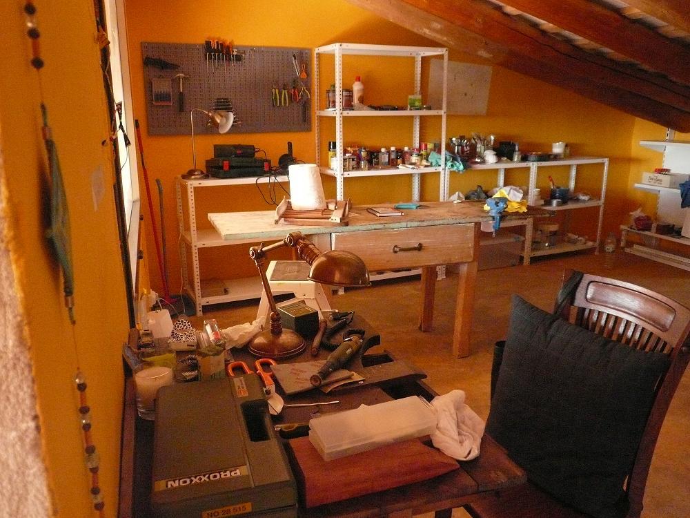 El taller de joyer a ondune - El taller de pinero ...