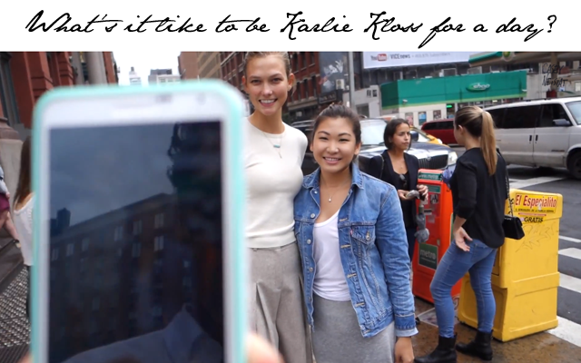 A day in the life of Karlie Kloss
