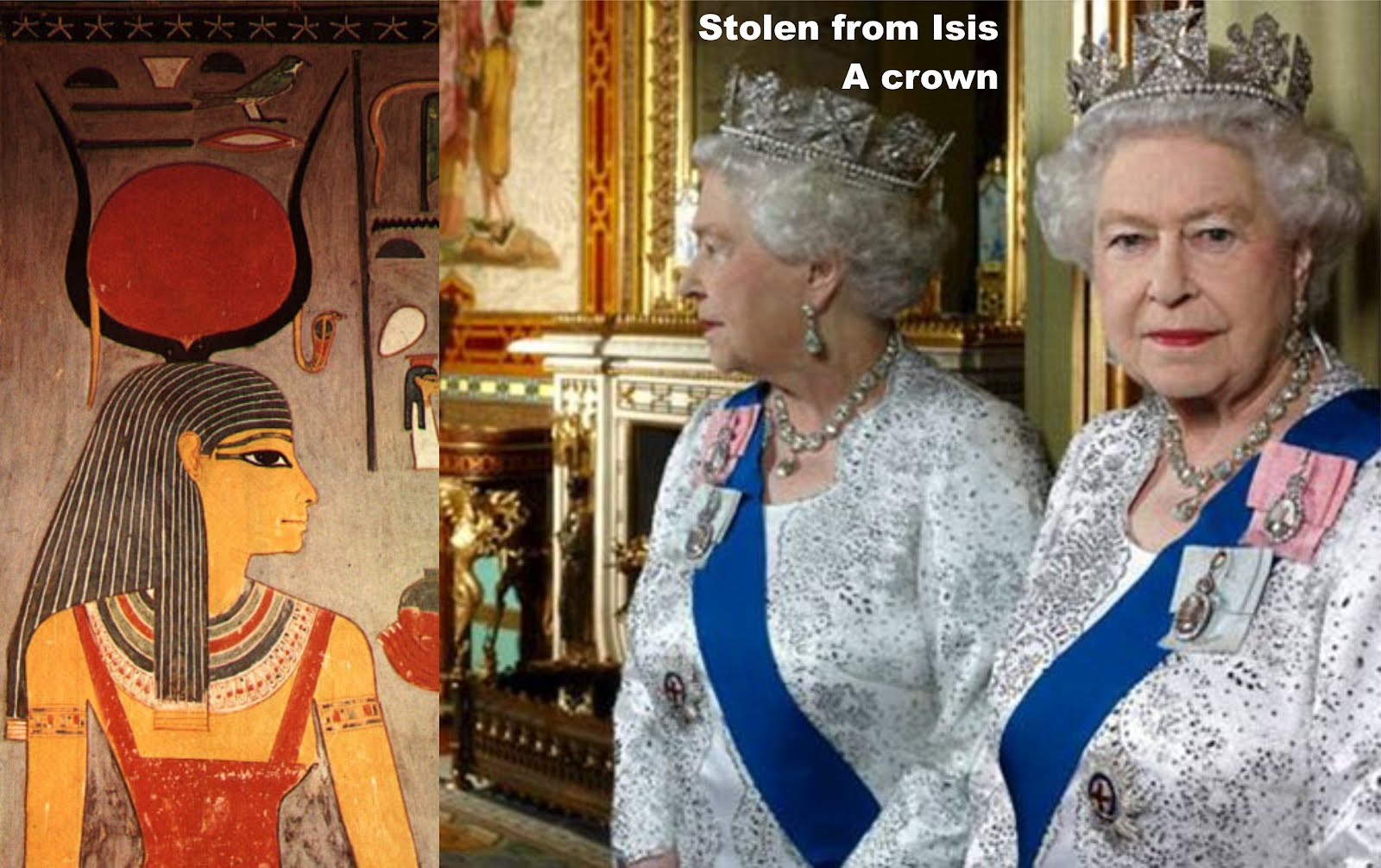 European bloodlines face end-time vortex of exposure  Stolen%2Bfrom%2BIsis.%2BA%2Bcrown.%2BQueen%2BElizabeth%2BII.