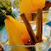 Receta de peras en salsa de naranja