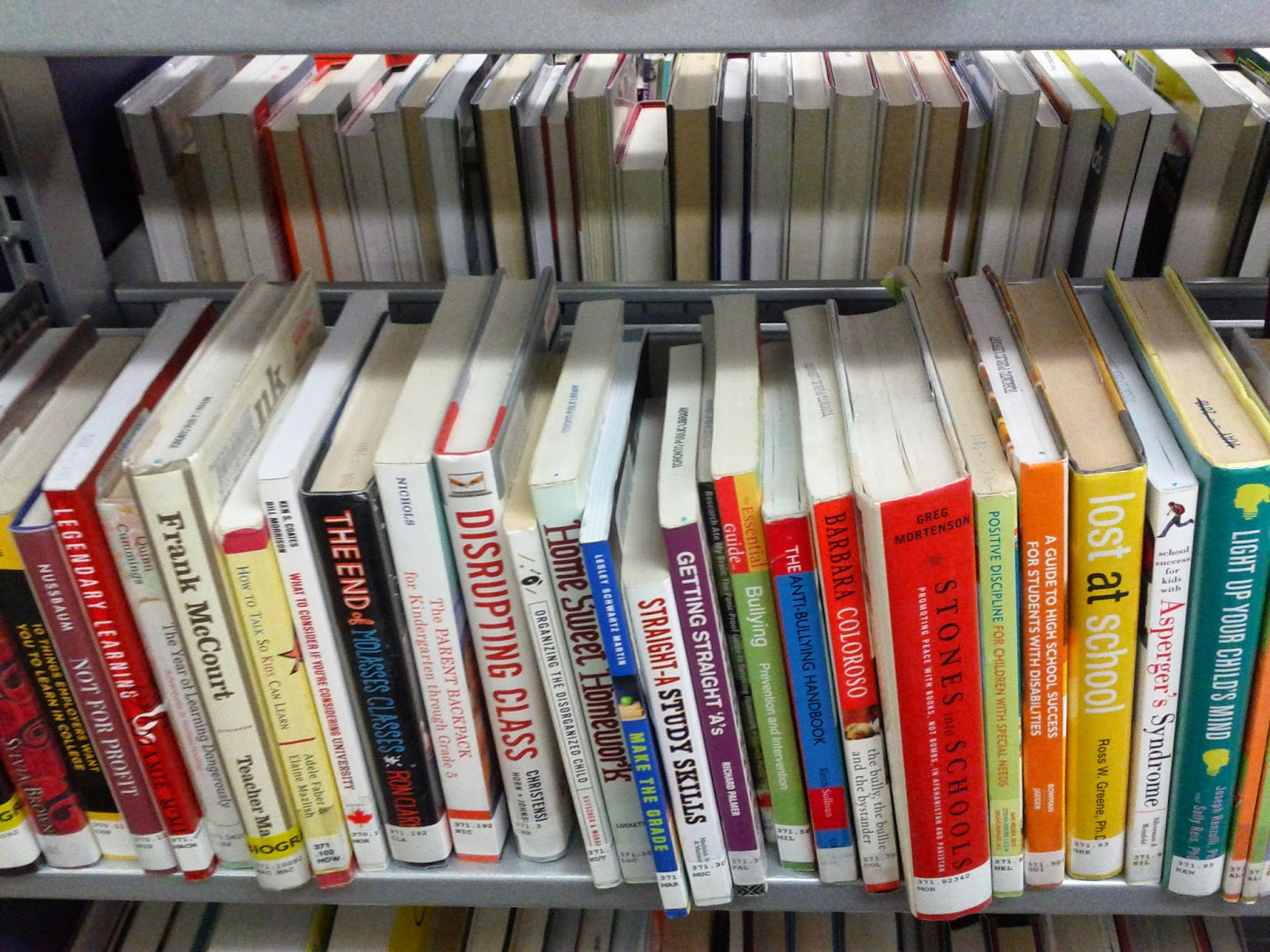 Stock photo: Library books and DVDs