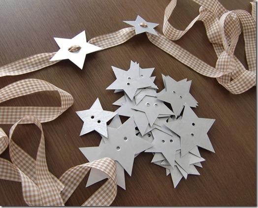 Manualidades navidad con reciclados servilleteros y - Guirnaldas navidad manualidades ...