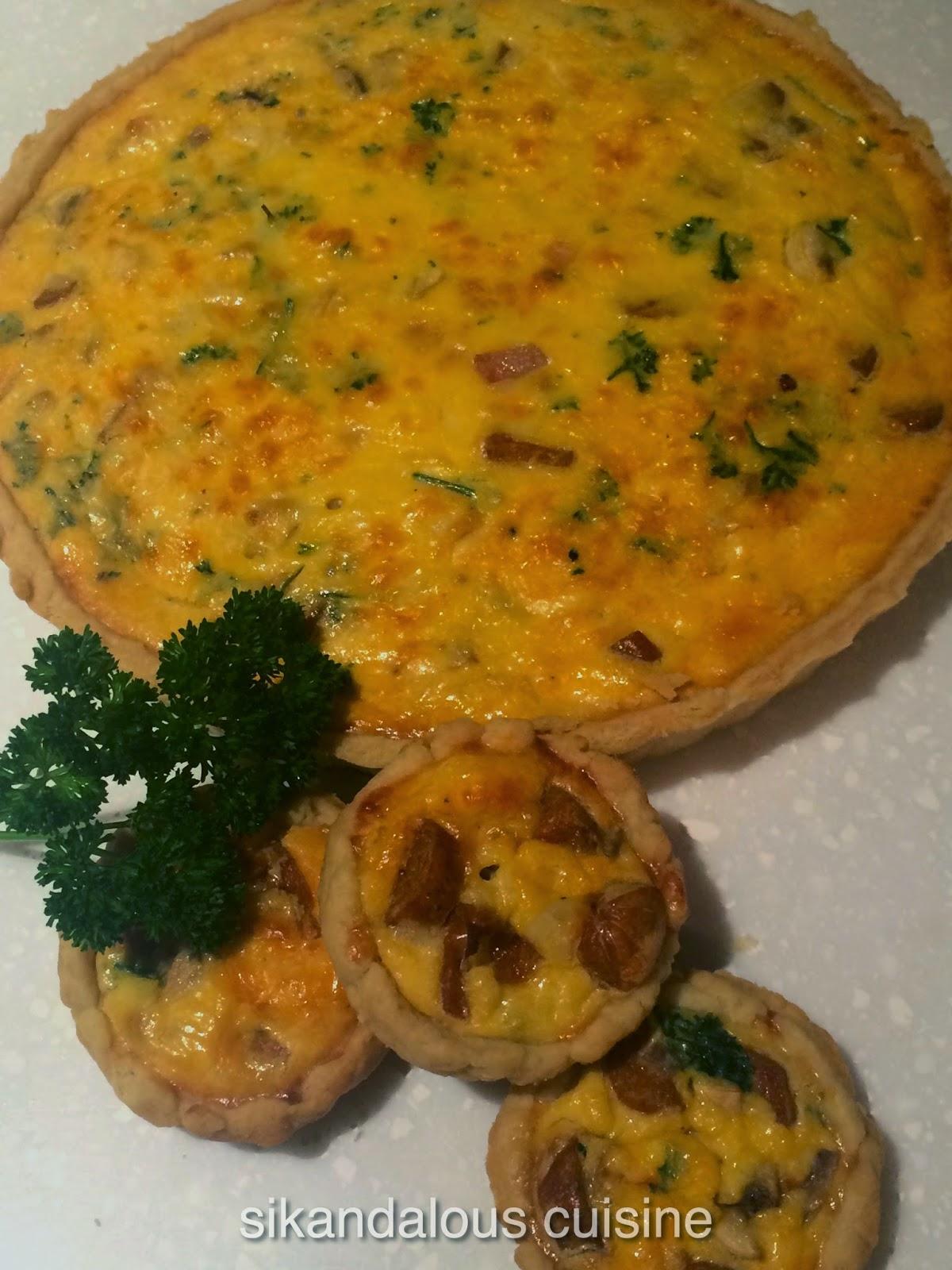 Sikandalous cuisine quiche lorraine for Cuisine quiche lorraine