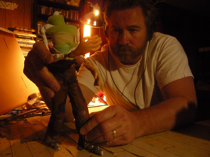 Stop Motion Animation Puppet by Jeff Lafferty