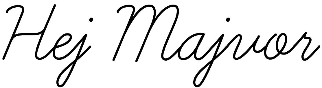 Hej Majvor