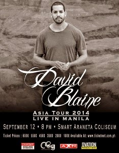 David Blaine Live in Manila 2014