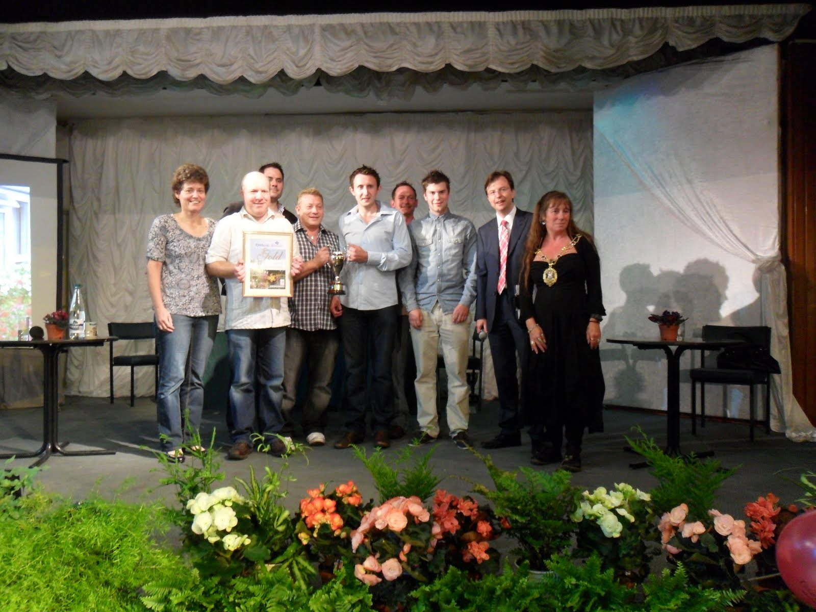 Worcester College Gardeners And The Winner Is