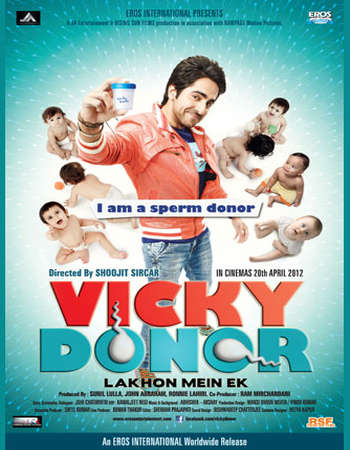 Vicky Donor 2012 Hindi 720p BluRay 900MB