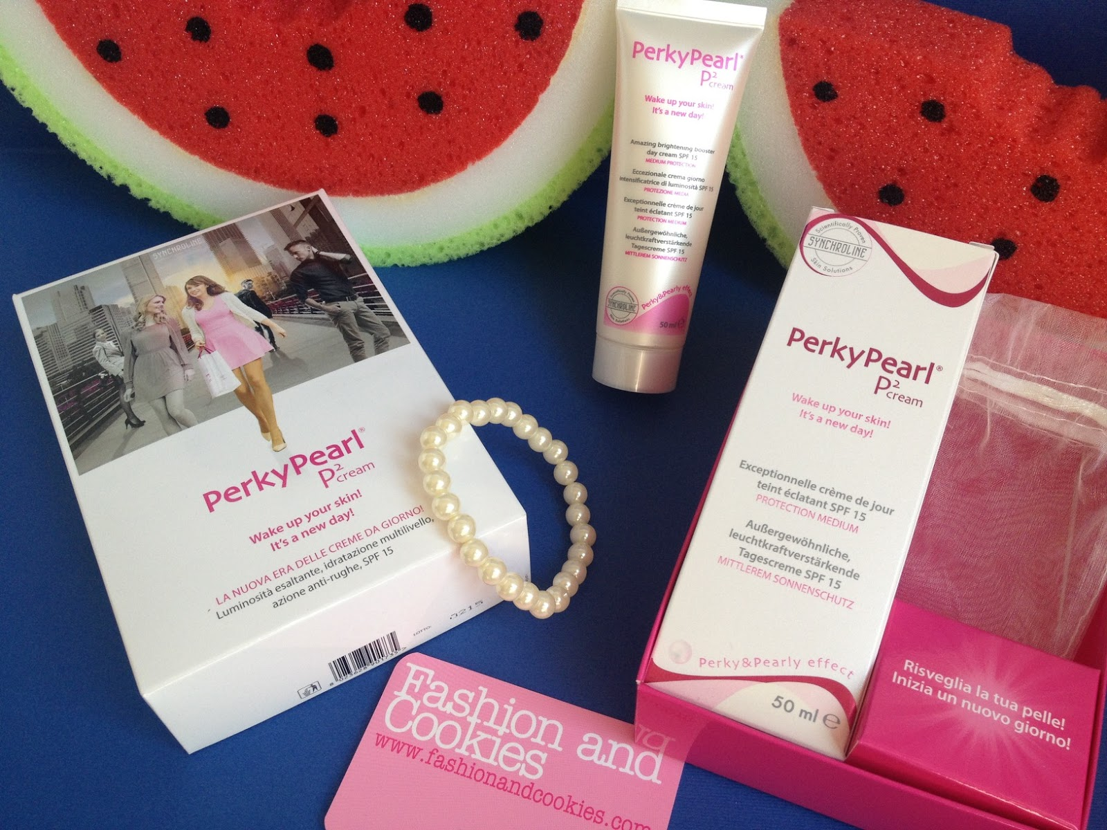 Perky Pearl day cream review on Fashion and Cookies fashion and beauty blog