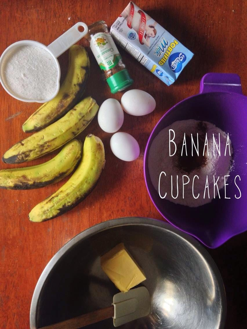 FTW! Blog, Guiltless Gourmand, Banana Cupcakes recipe, #howto, #independentliving