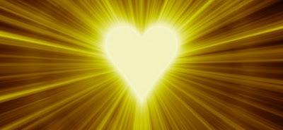 Corazón luminoso