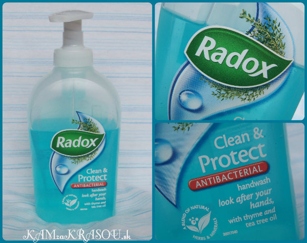 Antibakteriálne mydlo Radox