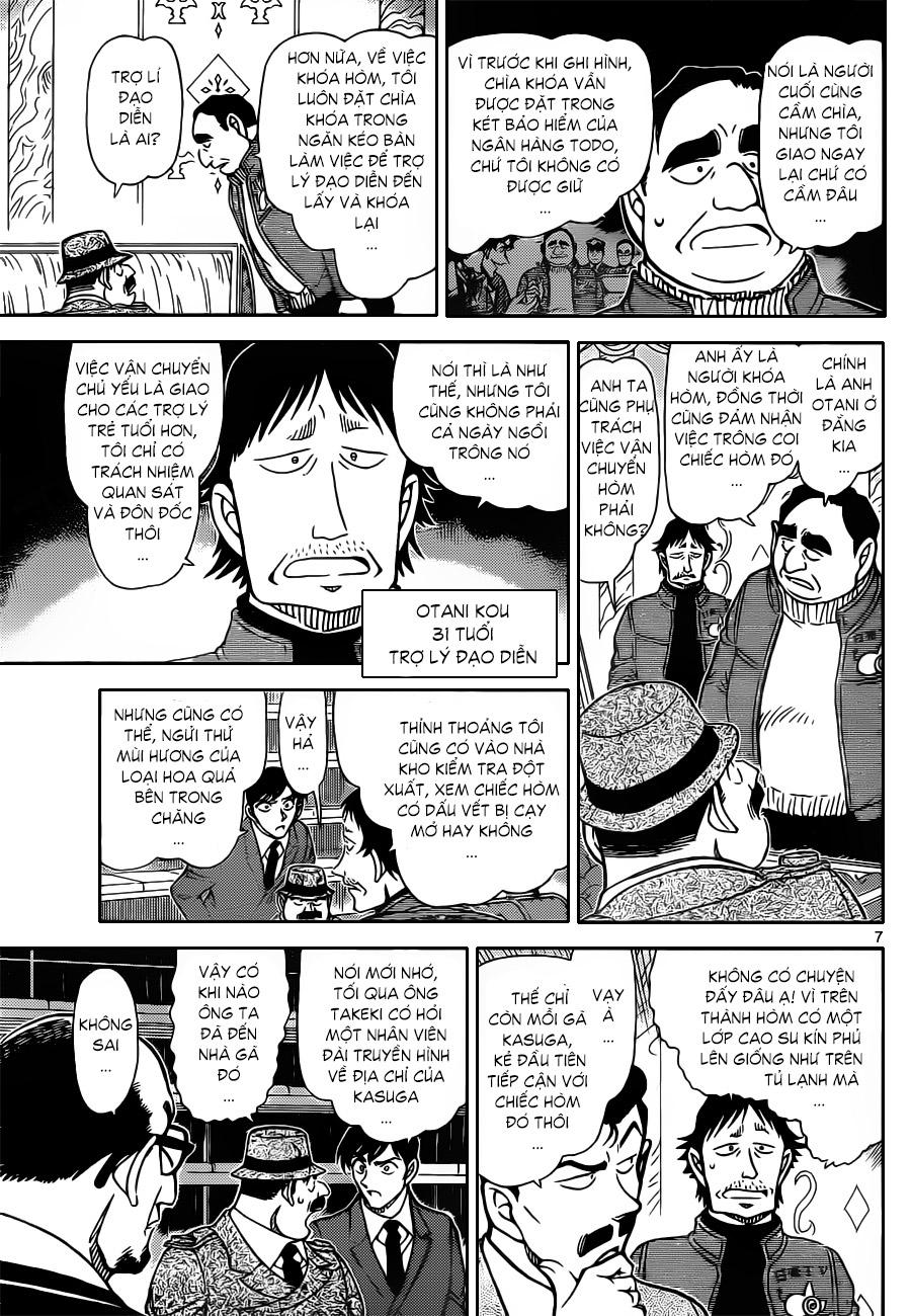 009, Thám tử lừng danh Conan chap 845    NarutoSub
