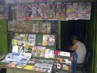 usaha kios koran