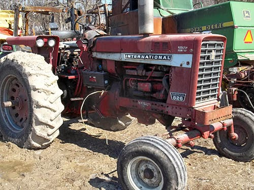 International 826 tractor parts