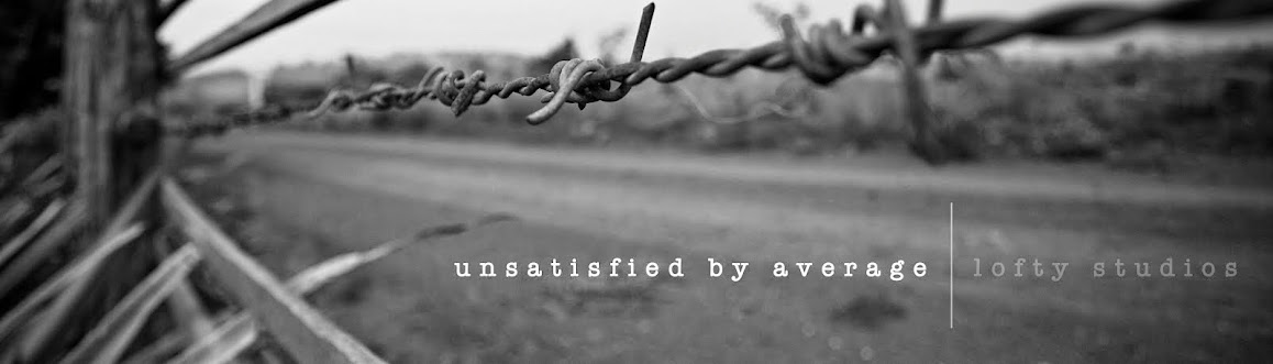 Unsatisfied By Average || The Blog