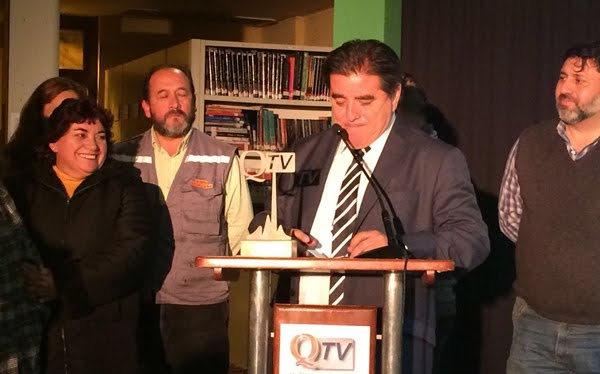 Presidente CNTV recibe Premio a la Libertad de Expresión otorgado por Quilicura TV