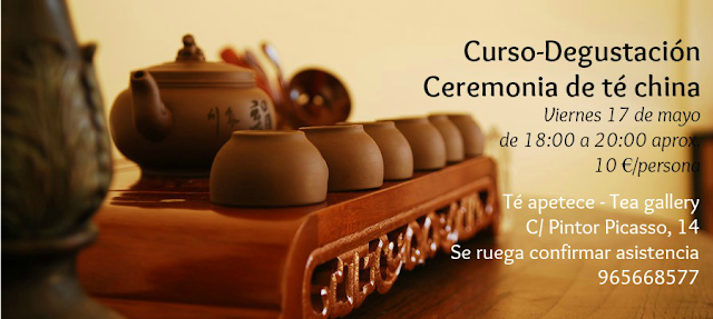 Curso degustación ceremonia china de té