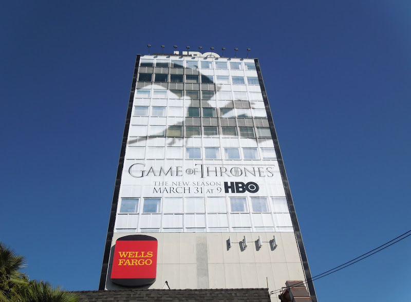 Game of Thrones season 3 HBO billboard