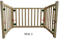 Hướng dẫn sử dụng và lắp ráp nôi gỗ cho bé VinaNoi, ráp lòng nôi