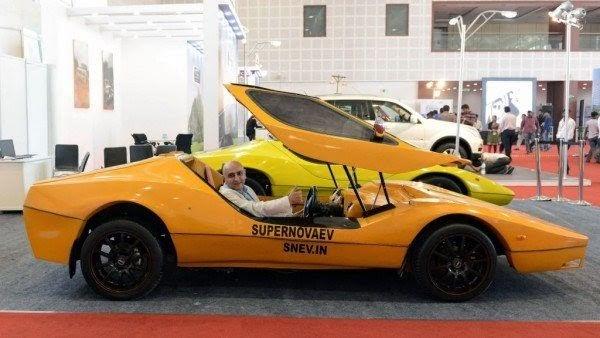 Super Nova Electric Vehicle
