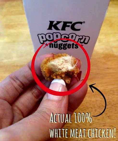 A Nugget-Vention With KFC Popcorn Chicken Nuggets