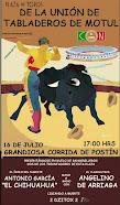 El Chihuahua y Arriaga, anunciados en Motul, el 16/07.