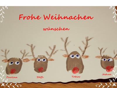 Perlenhuhn selbstgemacht filz weihnachtskarten mit for Weihnachtskarten basteln mit kindern vorlagen