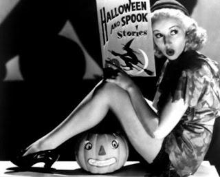 Halloween Pinup Girl
