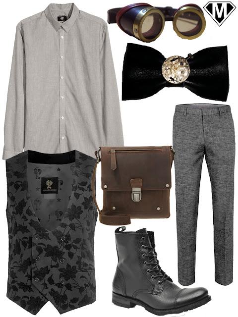 tenue steampunk homme