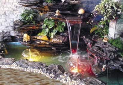 Fuentes de agua decorativas elementos integrantes for Estanques online