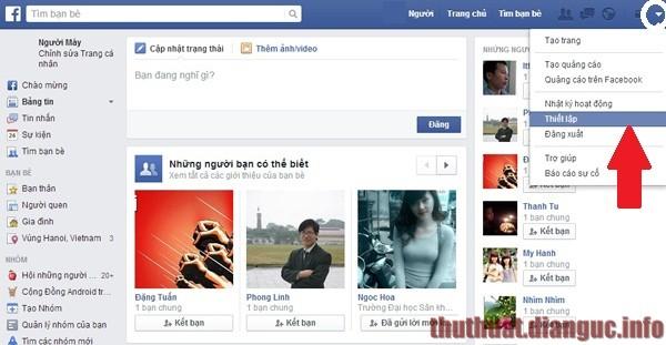 bật người theo dõi facebook