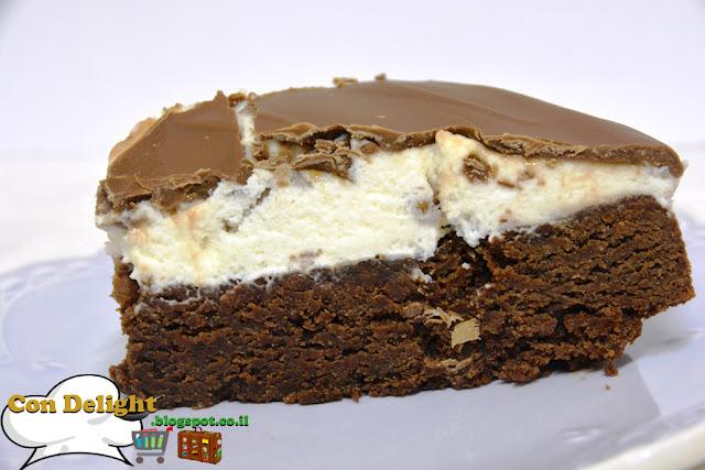 עוגת שלושה שוקולדים tres chocolates cake
