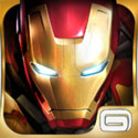 Iron Man 3 - The Official Game App Icon Logo By Gameloft