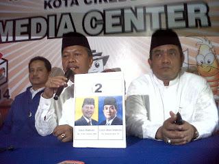 Empat Pasangan Calon Walikota tidak hadir dalam Rapat Rekapitulasi KPU Kota Cirebon